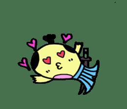 SAMURAI Whale sticker #2105687