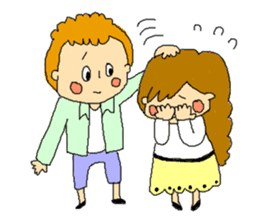 couple's sticker #2105951