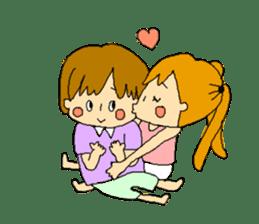 couple's sticker #2105952