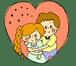 couple's sticker #2105980