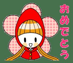 Fairy tale style girl sticker sticker #2106431
