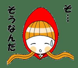 Fairy tale style girl sticker sticker #2106436