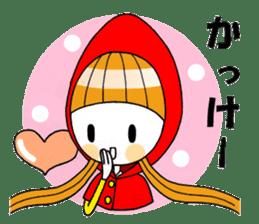 Fairy tale style girl sticker sticker #2106437