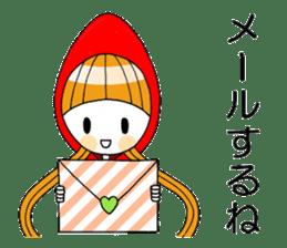 Fairy tale style girl sticker sticker #2106439