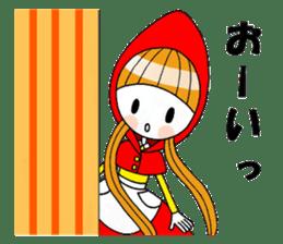 Fairy tale style girl sticker sticker #2106440