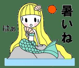Fairy tale style girl sticker sticker #2106447