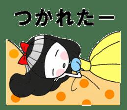 Fairy tale style girl sticker sticker #2106459