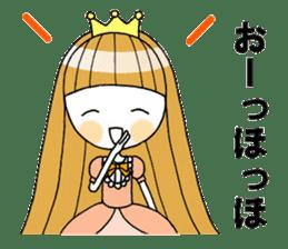 Fairy tale style girl sticker sticker #2106462
