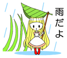 Fairy tale style girl sticker sticker #2106467