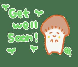 The English version of YASASHIMEJI sticker #2106922