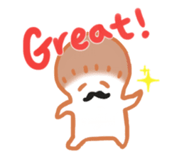 The English version of YASASHIMEJI sticker #2106927