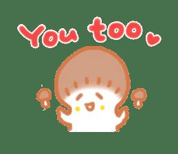 The English version of YASASHIMEJI sticker #2106929