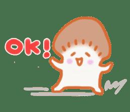 The English version of YASASHIMEJI sticker #2106938