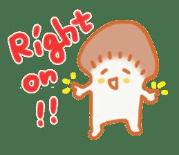 The English version of YASASHIMEJI sticker #2106941