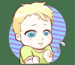 Dear Baby sticker #2107528