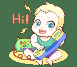 Dear Baby sticker #2107531