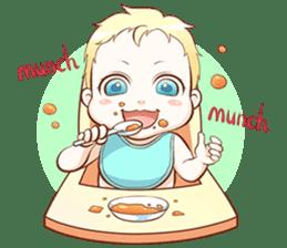 Dear Baby sticker #2107539