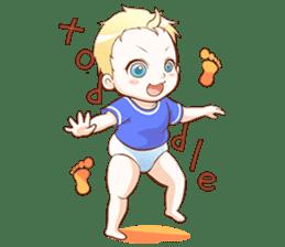 Dear Baby sticker #2107542