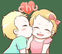 Dear Baby sticker #2107554