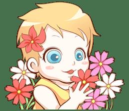 Dear Baby sticker #2107556