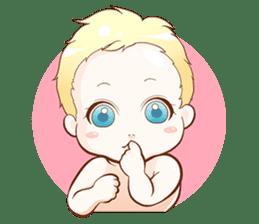 Dear Baby sticker #2107558