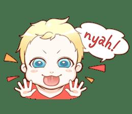 Dear Baby sticker #2107559