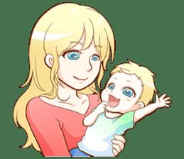 Dear Baby sticker #2107561
