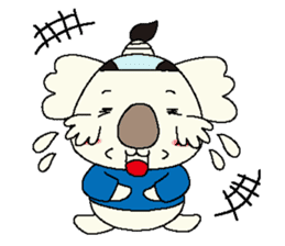 Mage koala sticker #2108435