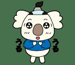 Mage koala sticker #2108444