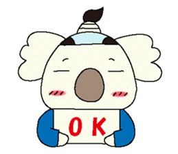Mage koala sticker #2108446
