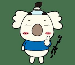 Mage koala sticker #2108447