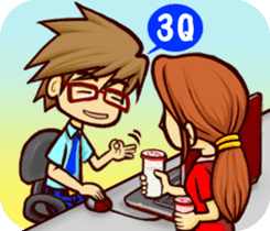 Have a tea time together sticker #2109081
