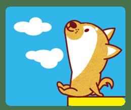 Shiba-Japanese dog! sticker #2110143