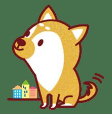 Shiba-Japanese dog! sticker #2110144