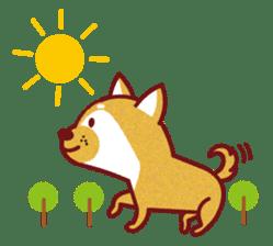 Shiba-Japanese dog! sticker #2110147