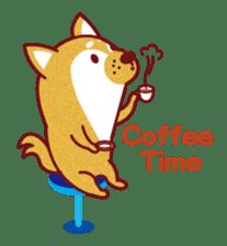 Shiba-Japanese dog! sticker #2110149
