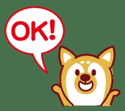 Shiba-Japanese dog! sticker #2110152