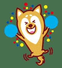 Shiba-Japanese dog! sticker #2110153