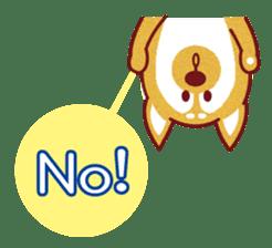 Shiba-Japanese dog! sticker #2110155