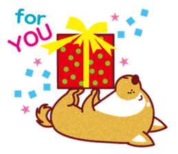 Shiba-Japanese dog! sticker #2110157