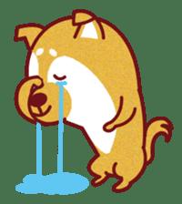 Shiba-Japanese dog! sticker #2110159