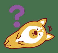 Shiba-Japanese dog! sticker #2110161