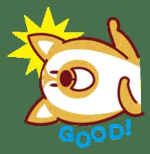 Shiba-Japanese dog! sticker #2110162