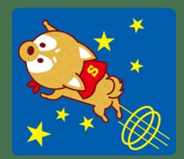 Shiba-Japanese dog! sticker #2110164