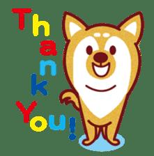 Shiba-Japanese dog! sticker #2110166