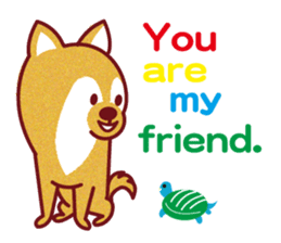Shiba-Japanese dog! sticker #2110169