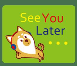 Shiba-Japanese dog! sticker #2110171