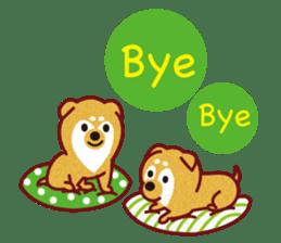 Shiba-Japanese dog! sticker #2110172