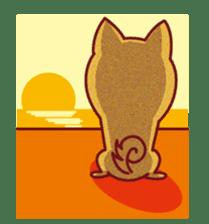 Shiba-Japanese dog! sticker #2110173
