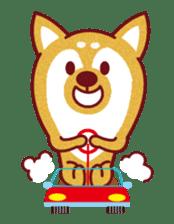 Shiba-Japanese dog! sticker #2110175